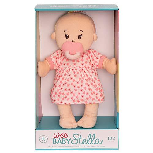 """41KUijIFIAL - Manhattan Toy Wee Baby Stella Peach 12"""" Soft Baby Doll"""
