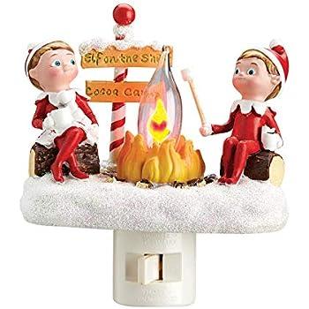 Amazon Com Roman Elf On The Shelf Cocoa Camp 4 5 Inch