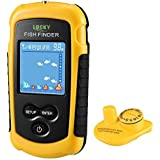 LUCKY Portable Wireless Fish Finder for Shore Fishing for Beginners