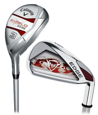 Callaway Golf Diablo Edge Hybrid Irons Combo, Set of 8 (Left Hand, 4H, 5H, 6PS, Graphite, Ladies), Outdoor Stuffs