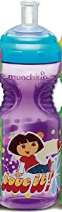 Munchkin Dora the Explorer Sports Bottle, Colors May Vary (Discontinued by Manufacturer)