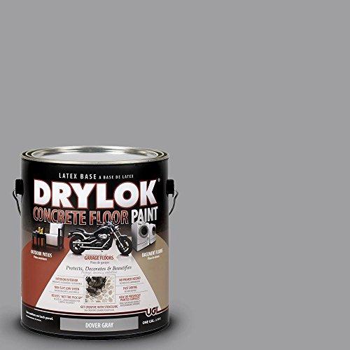UGL 1-gal. Dover Gray Latex Drylok Concrete Floor Paint