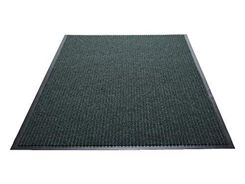 Indoor Wiper Mat Scraper (Guardian Golden Series Dual-Rib Indoor Wiper Floor Mat, Vinyl/Polypropylene, 2'x3', Green)