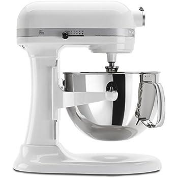 Amazon Com Kitchenaid Kp26m1xwh 6 Qt Professional 600