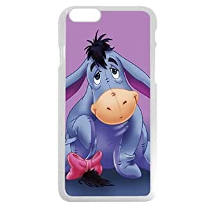 Diy White Hard Plastic Disney Winnie the Pooh Eeyore Diy For Iphone 6Plus Case Cover Case, Only fit Diy For Iphone 6Plus Case Cover