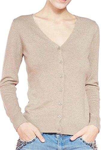 women s v neck cardigan sweater medium