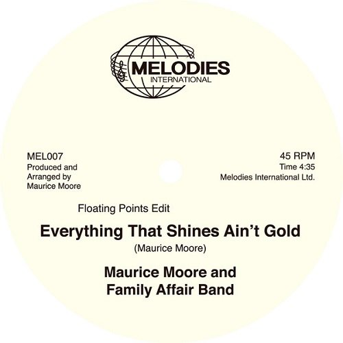 Vinilo : Maurice Moore & Family Affair Band - Everything That Shines Ain\'t Gold (United Kingdom - Import)