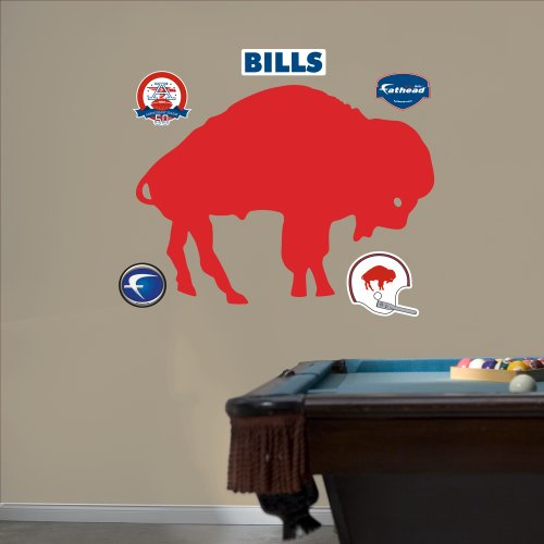 NFL Buffalo Bills AFL Logo Wall Graphics