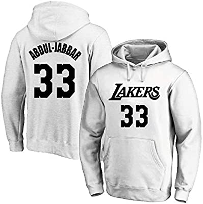 CAISHEN Hombre Mujer Ropa Deportiva de Baloncesto NBA Lakers 33 ...