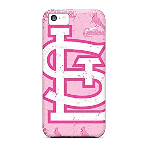 Awesome St. Louis Cardinals Flip Case With Fashion Design For Iphone 5c