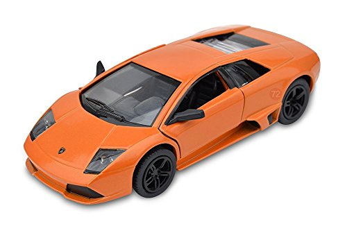 Kinsmart 1/36 Scale Diecast Lamborghini Murcielago Lp640 in Color Orange