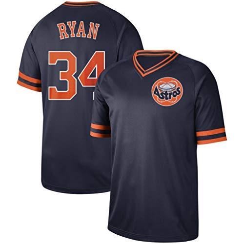 Mens Baseball Athletic Jersey (Nolan Ryan Jersey)