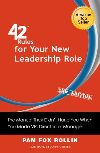 Amazon 42 rules for your new leadership role 2nd edition the 42 rules for your new leadership role 2nd edition the manual they didn fandeluxe Gallery