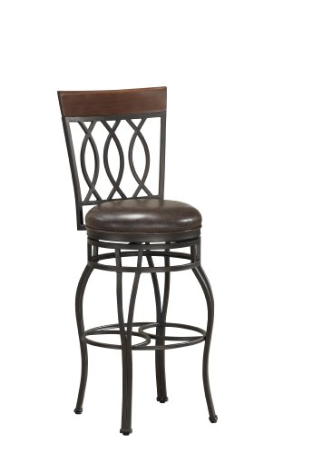 American Heritage Billiards Bella Extra Tall Height Stool, Bronze