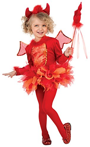 Rubie's Costume Deluxe Deviled Cutie Costume, Red, (Cute Devil Infant Costumes)