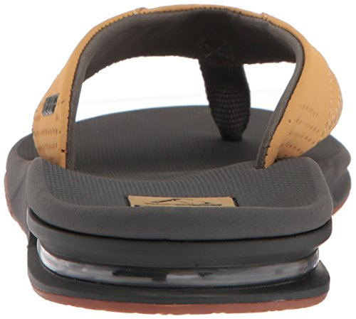 Reef Hombres Fanning Sandal Charcoal / Tan