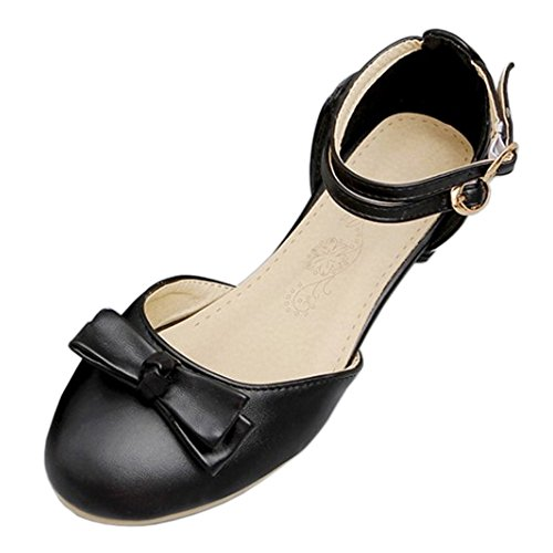 77 Sandals Fashion Women Black Low Coolcept Heel RpIPYwwq
