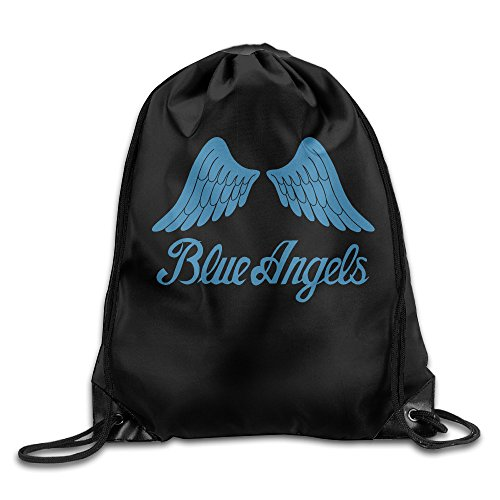 SAXON13 Unisex Funny Angels Wing Drawstring Racksack (Homemade Wings For Costume)