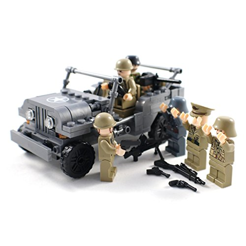 WW2 Army Jeep Soldiers Weapons product image