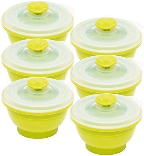 Collapse Silicone Storage Containers 6 piece