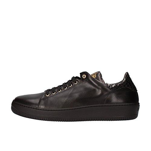 cesare-paciotti-sneakers-man-9-us-42-eu-black-leather-af144