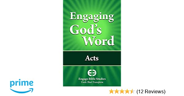 Engaging God's Word - Forward - March 23, 2018