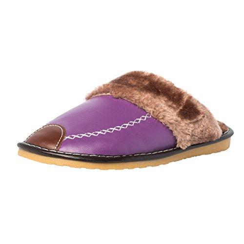 gibra - Zapatillas de Material Sintético para Mujer, Color Morado, Talla 38