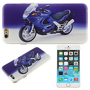 WQQ Cool Motorcycle Pattern PC Hard Cover for iPhone 6