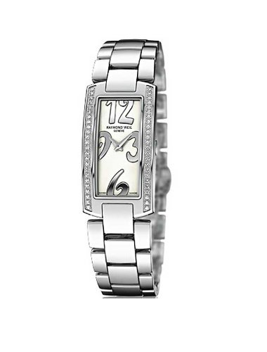 Raymond Weil Women's 1500-ST1-05303 Shine Diamond Accented Stainless Steel Watch