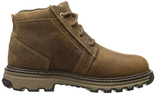 Caterpillar Mens Parker ESD Steel Toe Industrial and Construction Shoe, Dark Beige, 7 M US