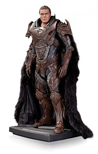 DC Collectibles Man of Steel Zod (Variant) Iconic Statue, Scale 1/6 by DC (1/6 Scale Statue)