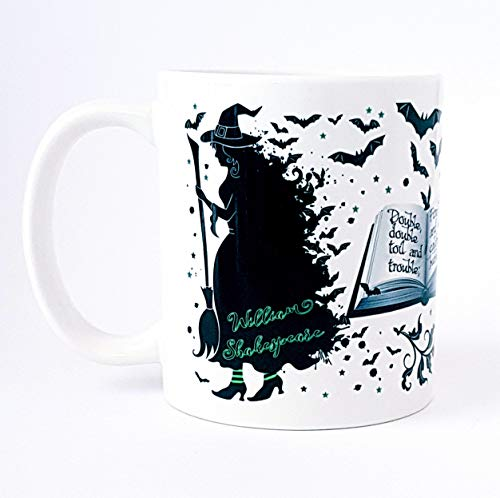 Shakespeare39;s Macbeth Witches Mug, Something wicked this way comes