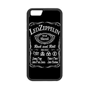 "LeonardCustom Protective Hard Rubber Coated Phone Case Cover for iPhone 6 4.7"", Led Zeppelin -LCI6U238"