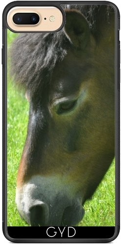 Coque Silicone pour Iphone 7 Plus / 8 Plus - Poney - Cheval by Digital-Art