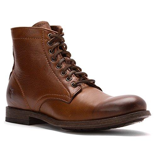 Frye Men's Tyler Lace Up Boot, 86070-Cognac, 10 D US