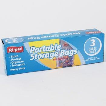 Amazon.com: Bolsas de almacenamiento portátil 3 ct grande ...