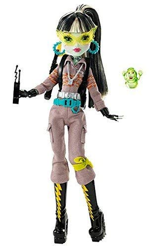 Monster High Ghostbusters Frankie Stein Exclusive Doll (Mattel Toys)]()