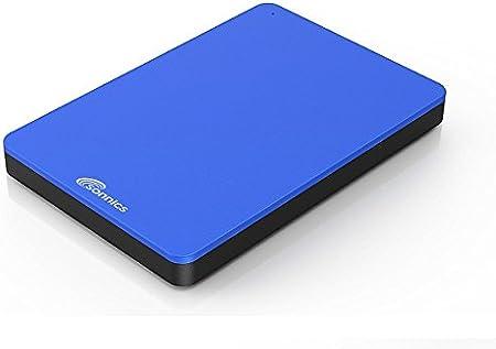 Sonnics 1TB Azul Disco duro externo portátil de Velocidad de transferencia ultrarrápida USB 3.0 para PC Windows, Apple Mac, Smart TV, XBOX ONE y PS4: Amazon.es: Informática
