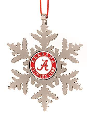 (Collegiate Pulse Alabama Crimson Tide NCAA Snowflake Christmas)