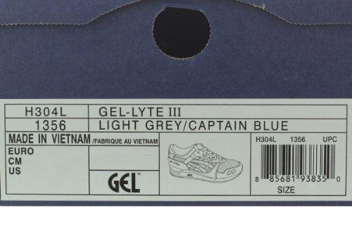 Asics - Heren Sportstyle Gel-lyte Iii Schoenen In Licht Grijs / Kapitein B Lichtgrijs / Captain B