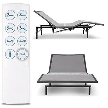 Leggett Platt Raven Adjustable Bed Base, Wireless, Head and Foot Articulation, Queen