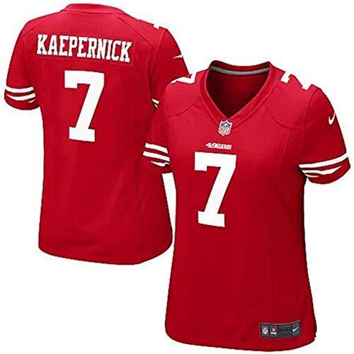 Nike Colin Kaepernick San Francisco 49ers NFL Girls Youth (Girls Medium 8/10) (San Francisco 49ers Authentic Jersey)