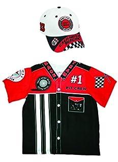 8d18b6eafd979 Aeromax My 1st Career Gear Pit Crew Shirt and Racing Cap (2 Piece Bundle)