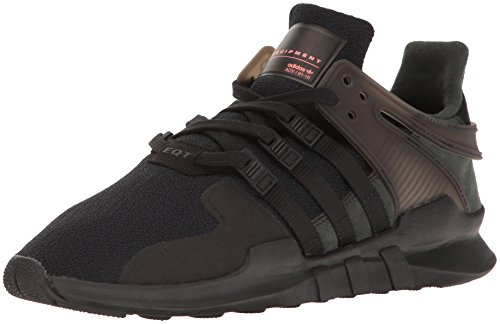 adidas Originals Men's Shoes | EQT Support ADV Fashion Sneakers, Black/Black/Turbo, (13 M US) by adidas Originals