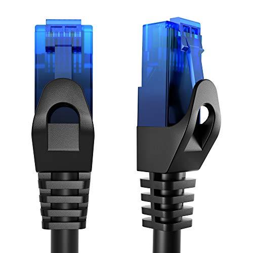 KabelDirekt 15m Cable de Red Ethernet, (Cat6, LAN, Gigabit Ethernet, RJ45, UTP, Compatible con todas las Versiones Anteriores Cat5/Cat5e, para redes gigabit), TOP Series