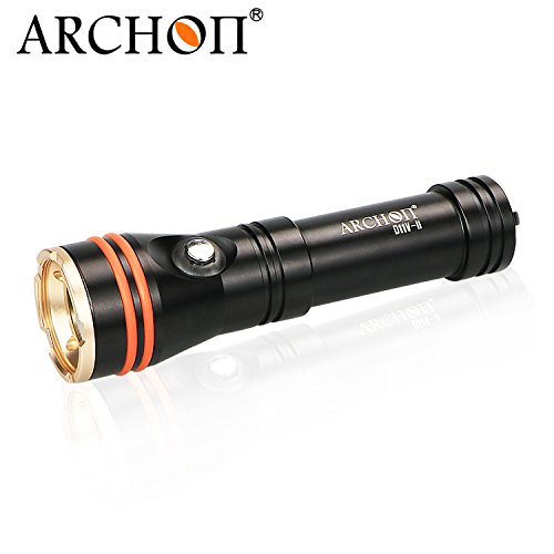 ARCHON D11V II / D11V-II Diving Torch CREE XM-L2 U2 LED max 1200LM 110 degree Angle beam 100 Meters underwater dive flashlight