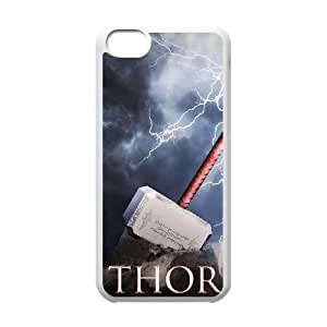Thor's Hammer iPhone 5c Cell Phone Case White yyfabd-243073