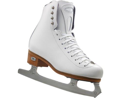 Riedell 223 Stride – White Ladies Figure Skate Medium 10