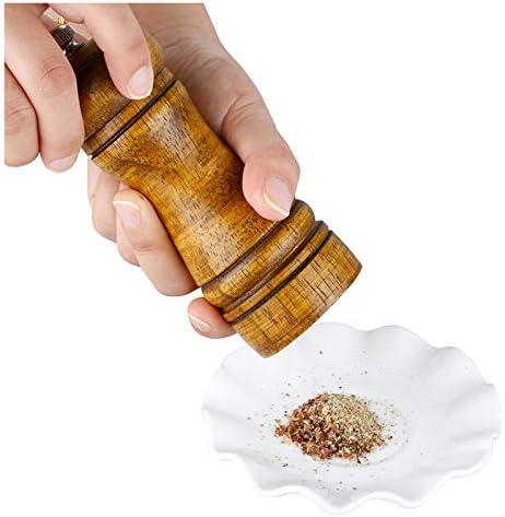 Wooden Salt and Pepper grinder Pepper Mill Grinder Spice Grinding Machine