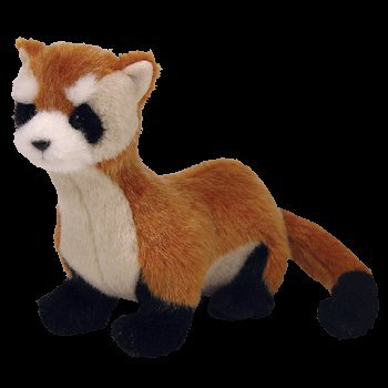 aa1854ef6d8 Image Unavailable. Image not available for. Color  TY Beanie Baby - SHILOH  the Black Footed Ferret ...